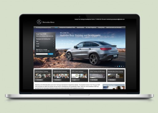 Mercedes-Benz Training website